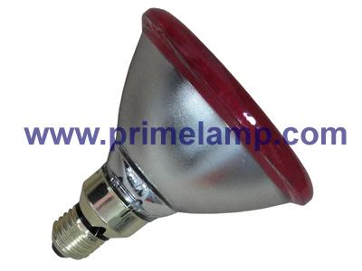 PAR38 Infrared Lamp, 100W Red, Flood Light, E27, 120V(China (Mainland))