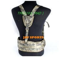 TMC MOLLE EG style MLCS Gen II Tactical Belt Suspenders Military Gear MAD,ATFG,MC+Free shipping(SKU12050344)