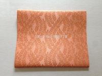 peach color  Jubilee sego gele headtie  latest design 2pcs/bag african fashion fabric Jacquard damask brocade fabric