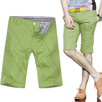2014 men's clothing shorts jack breeched slim CABBEEN 5 casual trousers male
