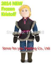 Christams Birthday Gift,1PC 50cm Frozen Kristoff Plush Doll Stuffed Soft Toy,Princess Elsa Anna Baby Soft Toy,Free Shipping(China (Mainland))