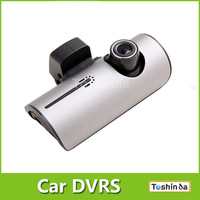 "X3000 car camea dvr x3000k 2.7 ""LCD Wide Angle Dual Cameras Car DVR with GPS Logger trackig free shiping"