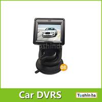 Freeshipping hot HD H818 Car DVR camera with Radar Detector Dynamic map resolution1280*1980+G-Sensor+GPS+COMS chip+140Degree