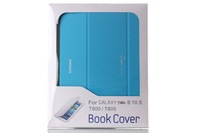 New 2014 Original Book Cover Case For Samsung Galaxy Tab S 10.5'' T800 Magnet Case Cover For Galaxy TabS 10.5 + Screen Protector