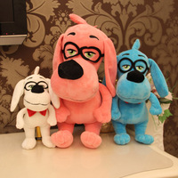 26CM 10.2'' Genius glasses dog doll plush toy Doll Stuffed Animals Baby Toy for Children Gifts Wedding Gifts toys Hot sales