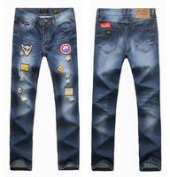 2014 fashion casual denim men jeans famous brand straight jeans for men casual pants