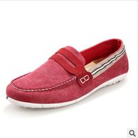 2014 leisure shoes fashionable canvas shoes tide joker lazy man  single  driving shoes CLD88