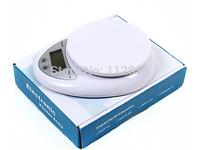 Free shipping New 5kg 5000g/1g Digital Kitchen Food Diet Postal Scale balance