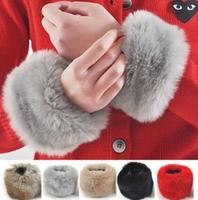 free shipping~Imitation fur's maomao oversleeve wristlet Imitation rabbit fur gloves wrist
