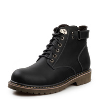 Free Shipping! Man Martin Boots Retro Genuine Leather Ankle Boots Fashion And High-top Boots Men !Hot sale M12