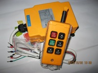 high quality Industrial Remote Control Crane Transmitter HS-6 6 keys receiver+transmitter DC12V 24V AC36V 110V 220V 380V