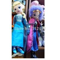 10PCS/LOT FROZEN ELSA ANNA Princess Dolls 50CM Toy doll Action Figures Plush Toy Baby Dolls Gifts