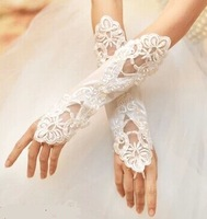 Fingerless Wedding Gloves Bridal Lace Gloves Bride Accessories Drop Shipping