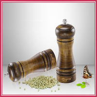 8 Inches Of Classical Salt Spice&Pepper Shakers Cooking Mill Grinder Kitchen Tools Cooking Set  Accessories