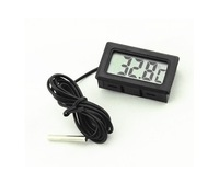 F08990 Digital LED Display Thermometer with 5 Meters Probe Waterproof Stainless Steel Temperature Sensor + USFreeship