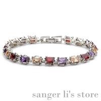 G-002 2014 Hot Selling Korea Jewelry Alloy Jewelry Azorite Bracelet Crystal Bangle Free Shipping