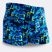 Big sales in the first [ full ] fashion men's swimming trunks swimming trunks / men's boxer boxer swim trunks swimsuit wholesale