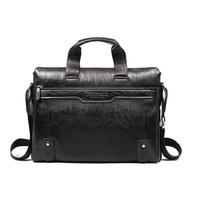 Fashion Business genuine leather Handbag Men's Briefcases Shoulder leather Messenger Bag BL0391