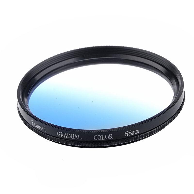 Фильтр для фотокамеры ZOMEI 58 SLR Nikon Canon + XJZM050303 фильтр для фотокамеры zomei 77 pentax dslr canon nikon xjzm050701