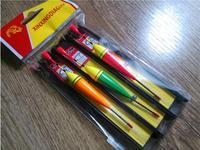 Top Quality ! Fishing Float /Line Set  With Hooks 3PCS/bag 3bag/Lot 12cm  Bobber  Fishing tackle