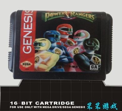 Sega 16bit MD games card: Mighty Morphin Power Rangers For 16 bit Sega MegaDrive Genesis game console(China (Mainland))