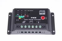 12V/24V Smart 10A Solar Panel PWM Solar Charge Controller
