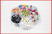 Hot DIY flower type kit set assorted letter 4*7 & 6*6mm beads A-Z.