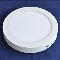 Free shipping 2014 new 12W led panel light surface mounted white/warm white led bulb ulter bright led lighting fixture