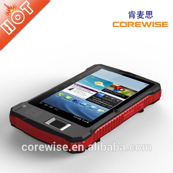 UHF RFID smart card reader, 3G Bluetooth tablet pc with fingerprint sensor(China (Mainland))