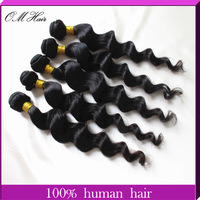 Rosa Beauty Queen Hair Products Malaysian Virgin Hair Loose Wave 60g/pc 5pcs/lot #1B No Tangle No Shedding Free Shipping by DHL