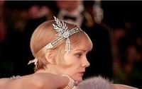 2014 The new! Gatsby luxury Indian pearl tassel hair band The bride hair hoop hair accessories headband HB-57