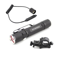 Olight M18 Tactical Kit:Flashligt,wm10 Weapon Mount,rm10 Remote Pressure Switch