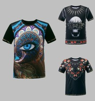 2014 New Summer Hot Sale Men's T Shirt O-Neck Short Sleeve Cotton GIVE Tees For Male French Fashioin Brand Boys' Tops Size:M-XXL