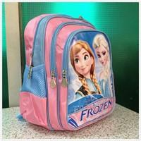 2014 New Frozen backpack children school bags kids backpack Schoolbag Boy Girl Cartoon Backpack Size 33*26*15CM free shipping