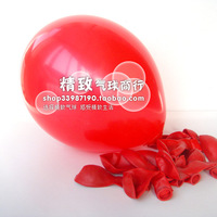 10 inch standard balloon red wedding 100