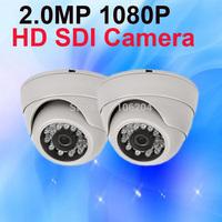 WDR Dome Camera HD SDI 1080P 2.0Megapixel IR indoor Security Surveillance home camera system