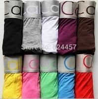 Hot Sale Men's Sexy Underwear Boxers Cotton Underwear Man Underwear Boxer Shorts 4  pcs/ lot with OPP bag