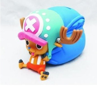 Free shipping  Japanese anime 10cm  One Piece Chopper figure toy  figurine money box