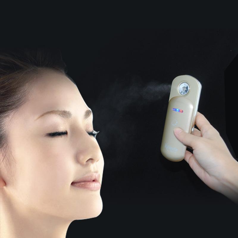 venda navio facial transporte livre 2014 novo estilo de vapor facial artefato água nebulizador portátil beleza máquina de pulveriza??o fria(China (Mainland))