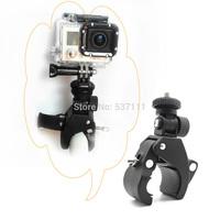 GoPro accessories Motorcycle Bike Bicycle Handlebar Handle Bar Camera GoPro Mount+Tripod+Screw&Nut
