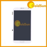 5PC LCD Display Touch Screen Digitizer Assembly with Frame For Samsung Galaxy Note II Note 2 N7100 7100 White Grey N7105 7105