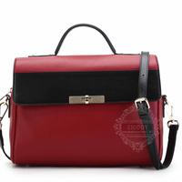 Guangzhou leather bag factory wholesale women's genuine leather handbag fashion leather bag GD-4309  low MOQ free shipping