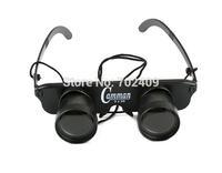 3 In 1 Fishing Eyeglass Binoculars 3x28 Magnification Observing Telescope Toy