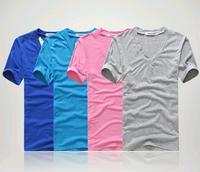 13 Colors mens t shirts fashion 2014 men's clothing  v-neck 30 seconds to mars man short sleeve T-shirt casual shirts
