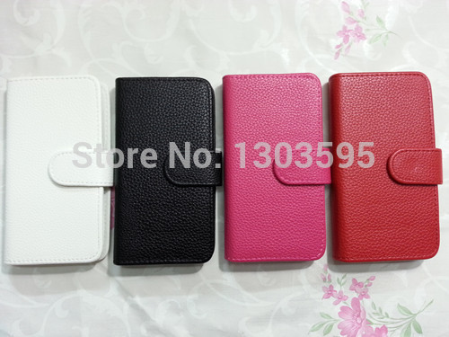 Luxury Litchi leather case cover for MOTOROLA ATRIX HD MB886 with wallet, free shipping(China (Mainland))