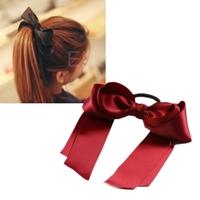 Lady Girl Hair Rope Sweet Cute Korea Style Hair Band Bowknot Tie Headband #D6
