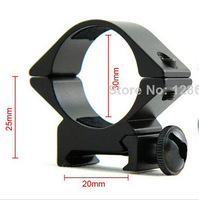 30mm Ring Low Scope Flashlight QD Mount for 20mm Weaver Picatinny Rail M0070