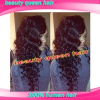 5A unprocessed curly glueless full lace wigs & u part human hair wigs natural hairline with baby hair free shipping in stock