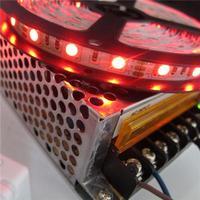 Cheap Non waterproof LED Strips Flexible LED Light Strips 600 LEDs 24key IR Control Box DC12V Hot Sale C5N3RG*2+DR+10A