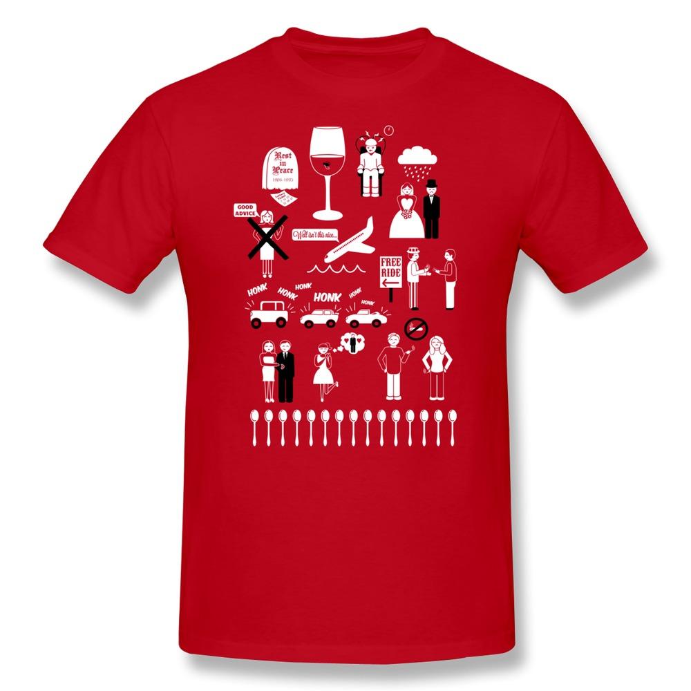Free Shipping Short Sleeve Men T Shirt Isn't it Ironic Custom Photo Boys TShirts Slim Fitted(China (Mainland))
